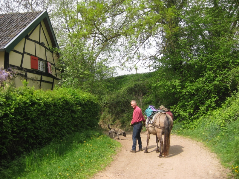 april 2014 training Luka and Joep in Cottessen 2014